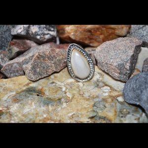 Porcelain Jasper Statement Ring 7